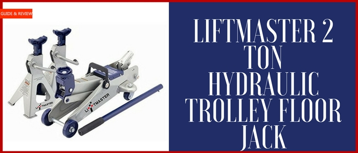 Liftmaster 2 Ton Hydraulic Trolley Floor Jack
