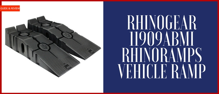 RhinoGear 11909ABMI RhinoRamps Vehicle Ramp Review