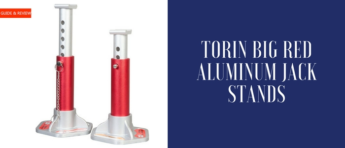 Torin Big Red Aluminum Jack Stands