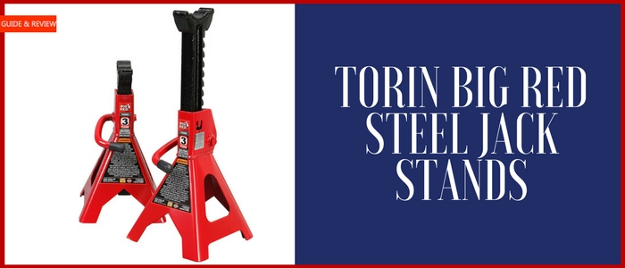 Torin Big Red Steel Jack Stands Review