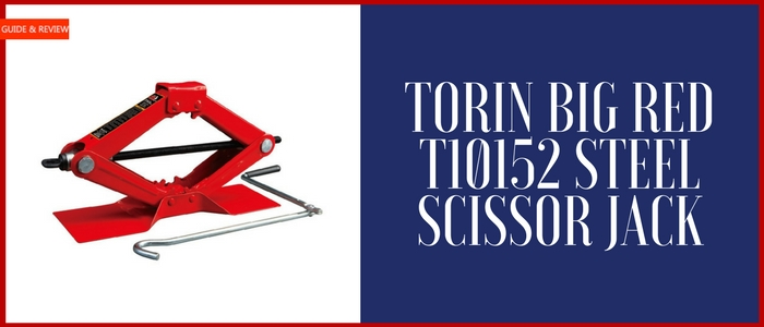 Torin Big Red T10152 Steel Scissor Jack Review