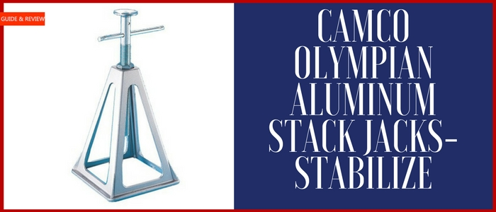 Camco Olympian Aluminum Stack Jacks-Stabilize Review