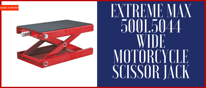 Extreme Max Wide Motorcycle Scissor Jack Review