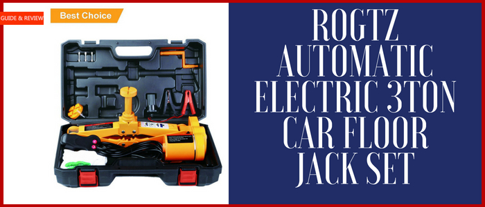 ROGTZ Automatic Electric 3Ton Car Floor Jack Set Review